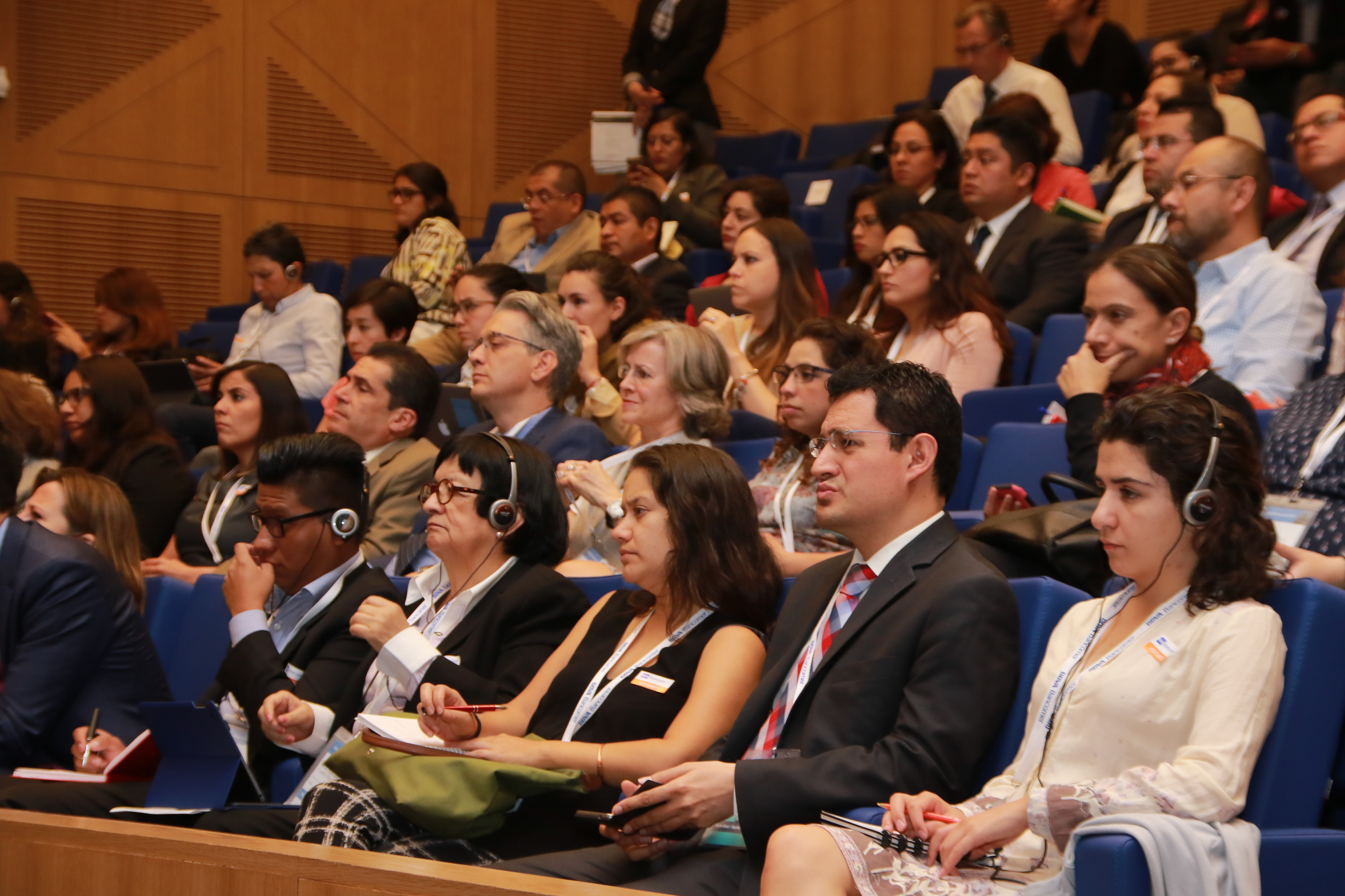 Attendees at the session Successful initiatives on Financial Education: Innovation on and off the Digital Age