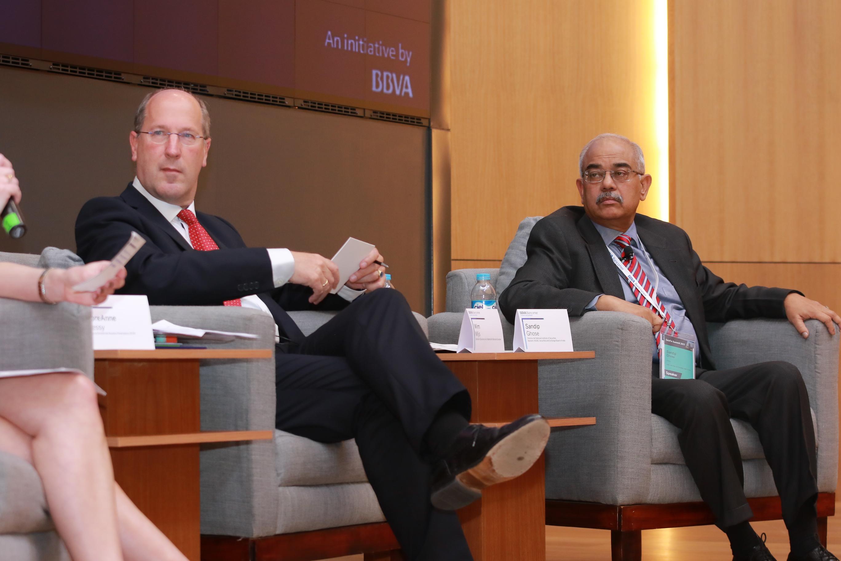 Wim Mijs y Sandip Ghose,