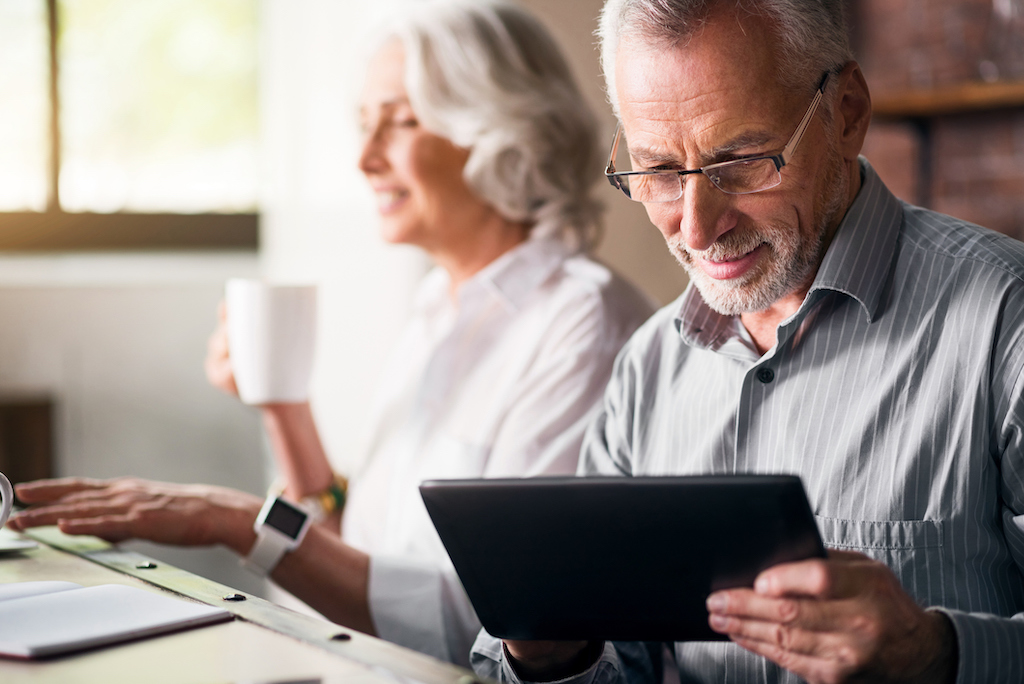 Safe Banking for seniors