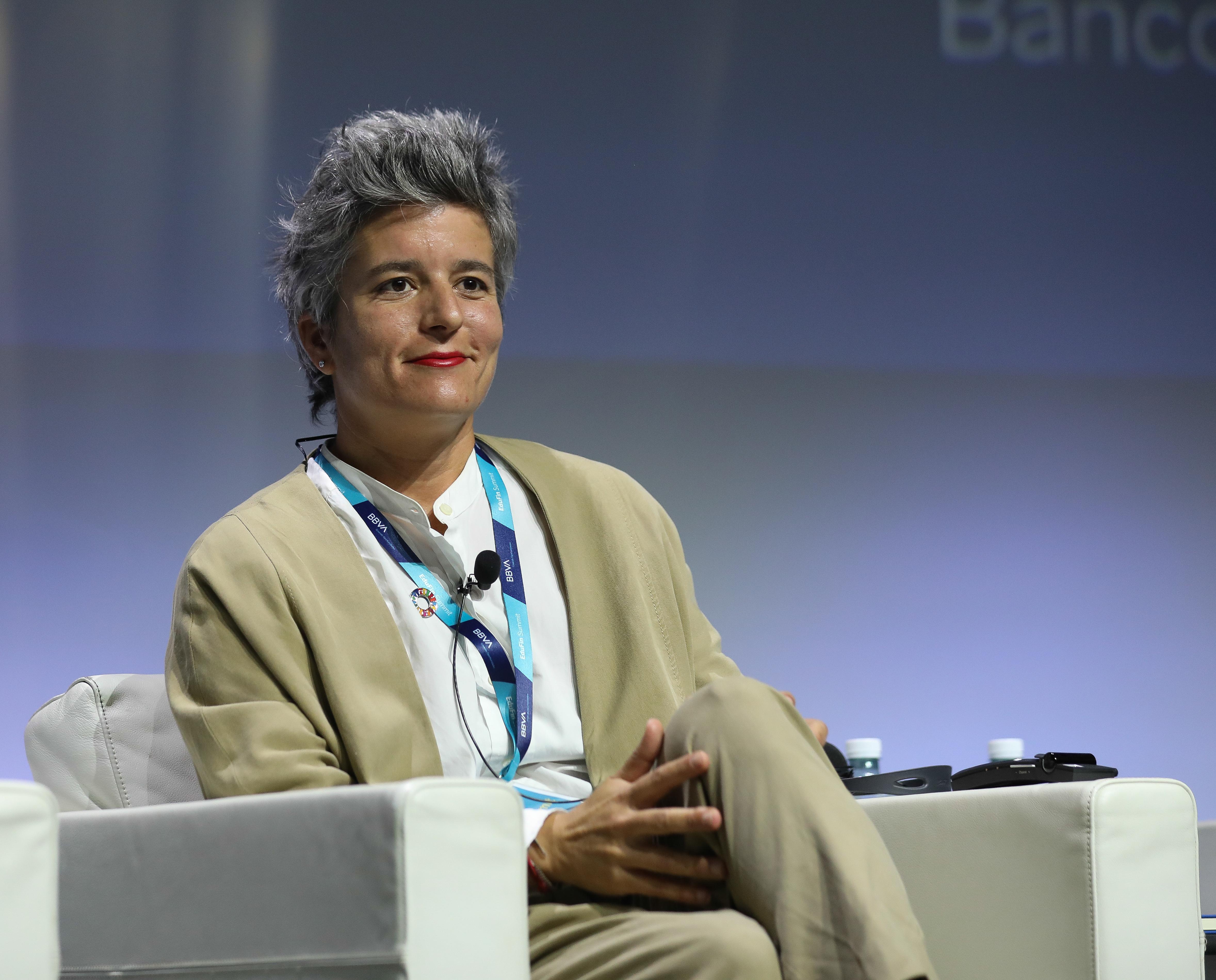Verónica López Sabater, directora general de la Fundación Analistas Financieros Internacionales