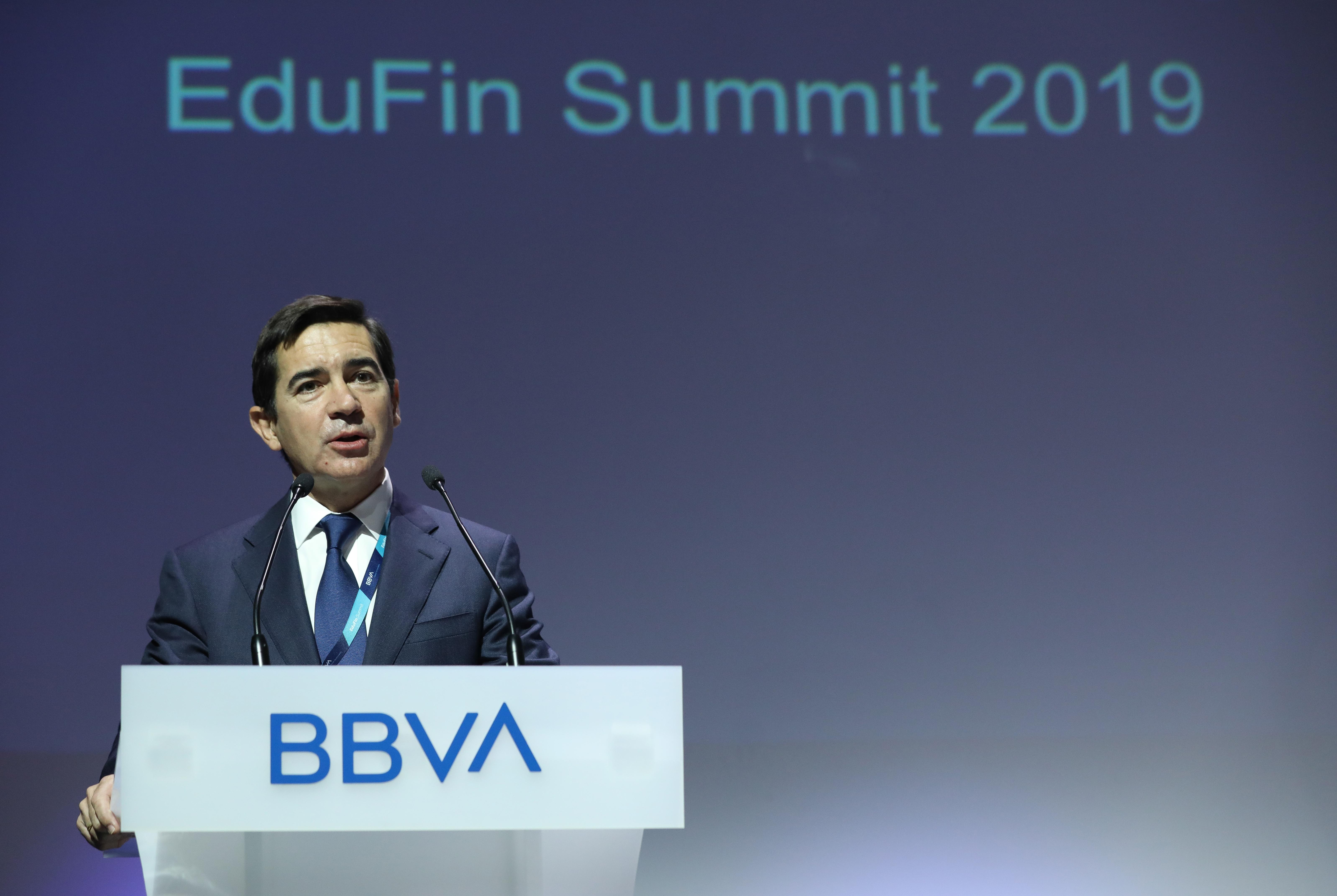 Intervención de Carlos Torres Vila, presidente de BBVA.