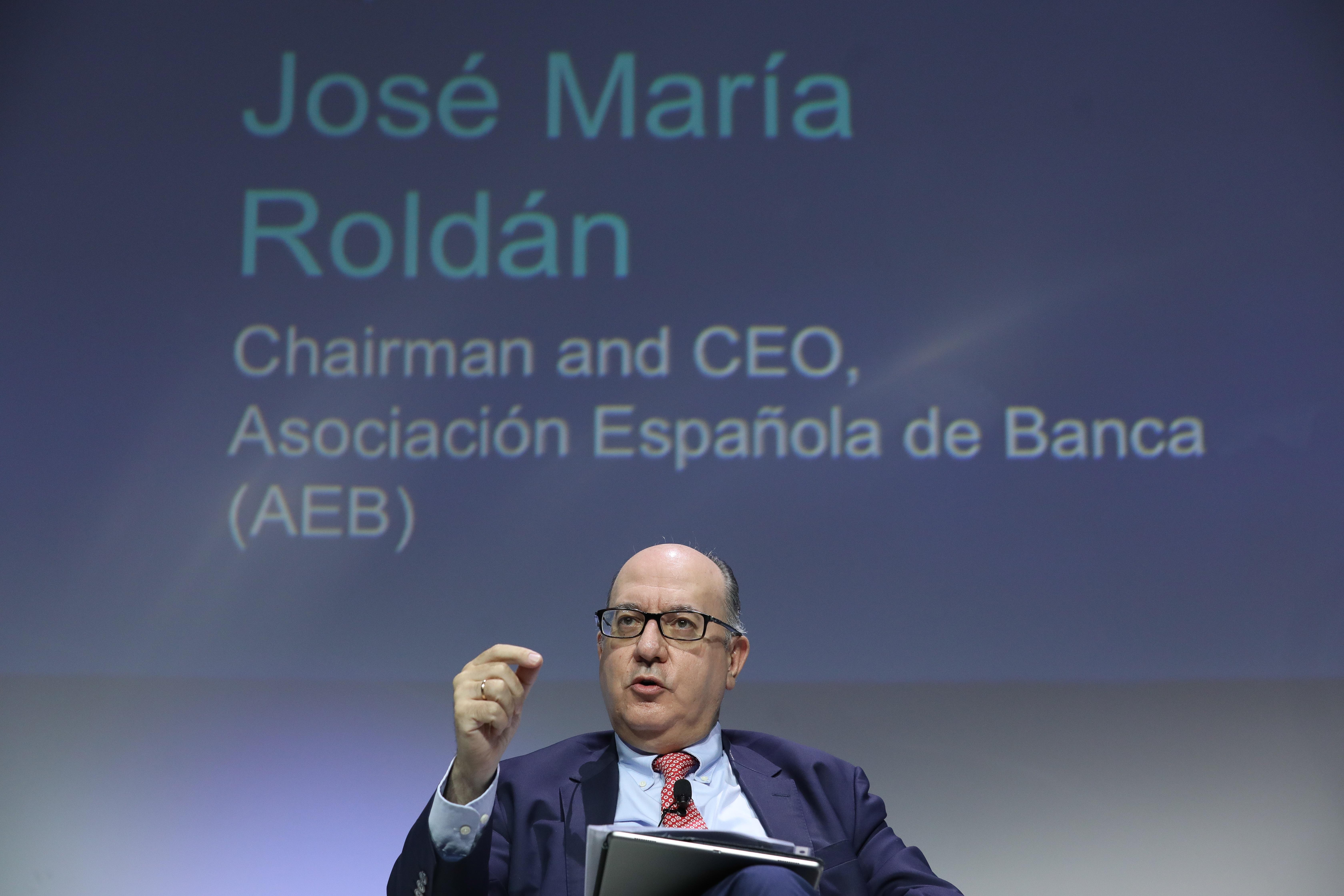 José María Roldán, presidente de Asociación Española de Banca (AEB)