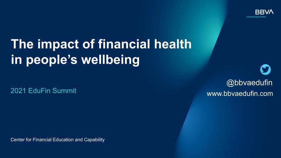 El impacto de la salud financiera en el bienestar de las personas